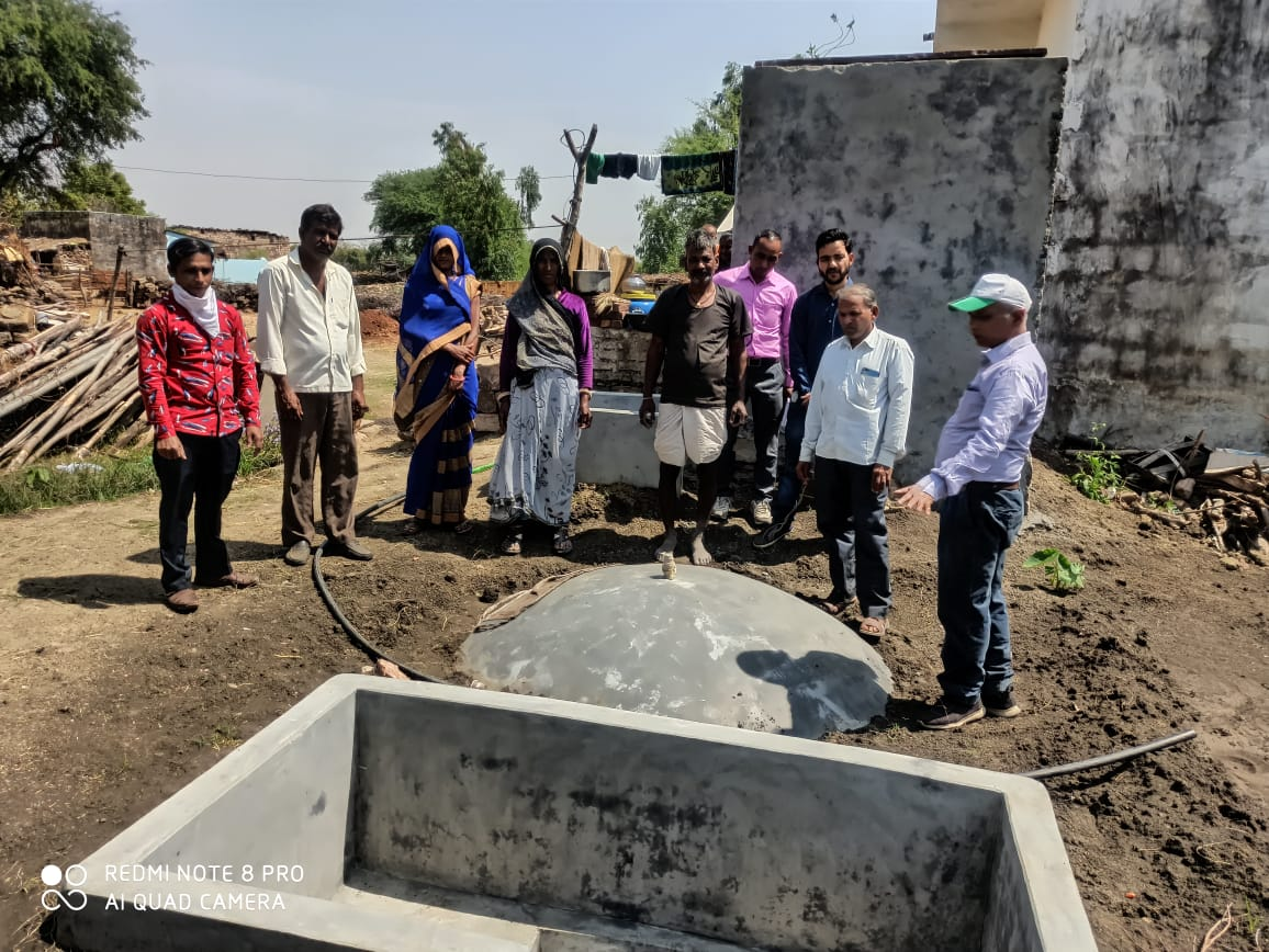 Toilet linked biogas plants prove a hit in rural kitchens